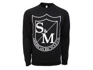 "S&M Bikes ""Big Shield Sweater"" Pullover"