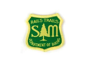 "S&M Bikes ""Department of Biking"" Patch"