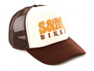 "S&M Bikes ""Keep on Truckin Trucker"" Kappe - Brown"
