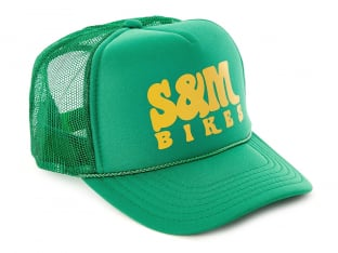 "S&M Bikes ""Keep on Truckin Trucker"" Kappe - Green"