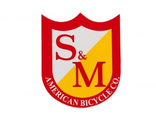 "S&M Bikes ""Medium Shield"" Sticker"