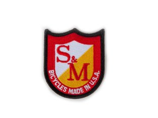 "S&M Bikes ""Shield"" Patch"