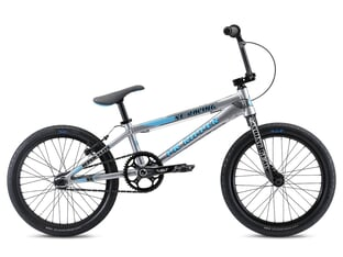 "SE Bikes ""PK Ripper Super Elite XL"" 2021 BMX Race Rad - Silver"