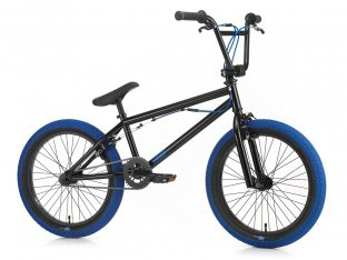 "SIBMX ""FS-1"" 2018 BMX Rad - Black/Blue"
