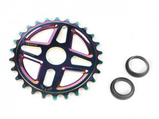 "SaltPlus ""Center"" Sprocket - Oilslick"