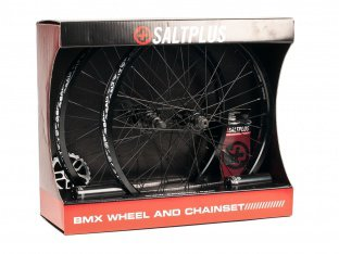 "SaltPlus ""Summit Kit"" BMX Teileset - Black"