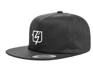 "Shadow x kunstform ""Collabo"" Snapback Cap - Black"