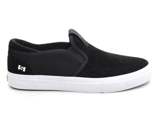 "State Footwear X Julien Fincker ""Keys"" Shoes - Black/White Suede"