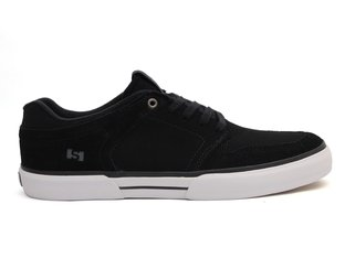 "State Footwear X kunstform ""Merce Low"" Schuhe - Black/White Suede"