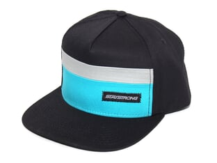 "Stay Strong ""Block Snapback"" Cap - Black/Teal"