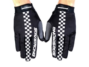 "Stay Strong ""Checkerboard"" Gloves"