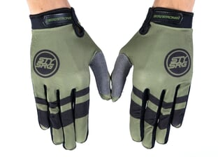 "Stay Strong ""Chevron"" Gloves - Green"