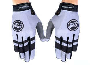 "Stay Strong ""Chevron"" Gloves - Grey"