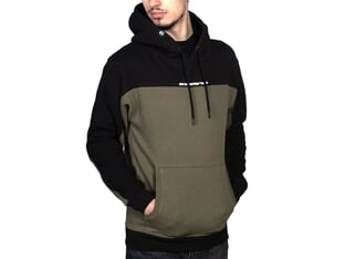 "Stay Strong ""Cut Off"" Hooded Pullover - Army Green"