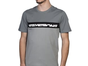 "Stay Strong ""Cut Off"" T-Shirt - Grey"