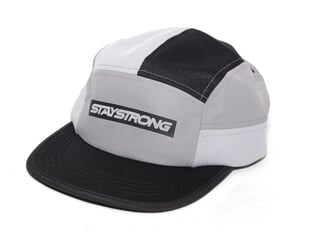 "Stay Strong ""Faster 6 Panel"" Cap - Grey"