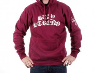 "Stay Strong ""Gothic"" Hooded Pullover"