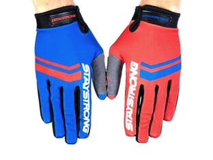 "Stay Strong ""Opposite"" Gloves - Red/Blue"