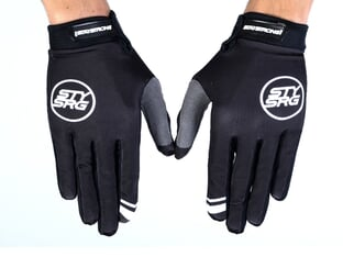 "Stay Strong ""Staple"" Gloves - Black"