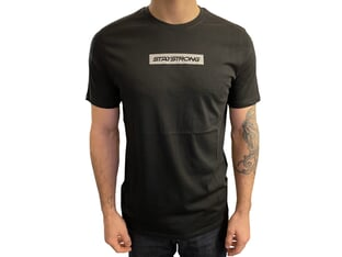"Stay Strong ""Word Box"" T-Shirt - Black Reflective"