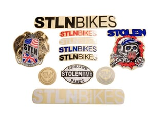 Stolen BMX Stickerset