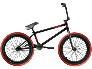 "Stranger ""Crux"" 2017 BMX Rad - Black/Red"
