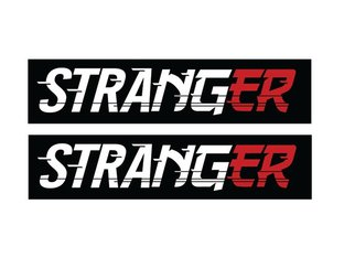 "Stranger ""Drift"" Stickerset"