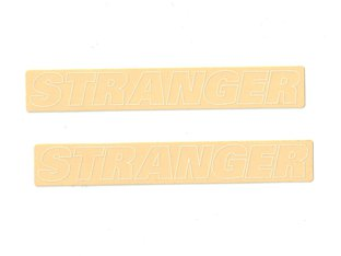 "Stranger ""Outline"" Stickerset"