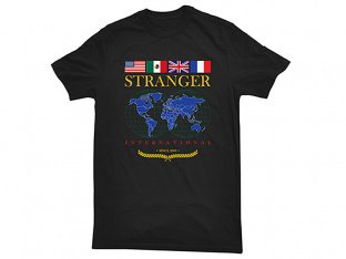 "Stranger ""Strang World"" T-Shirt - Black"