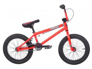 "Subrosa Bikes ""Altus 16"" 2018 BMX Bike - Satin Fury Red 
