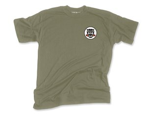 "Subrosa Bikes ""Battle Cat"" T-Shirt - Army Green"