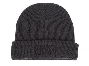 "Subrosa Bikes ""Carved"" Beanie Mütze - Charcoal"