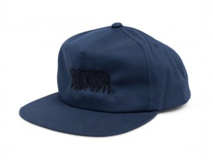 "Subrosa Bikes ""Carved Snapback"" Kappe - Navy Blue"