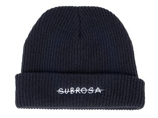 "Subrosa Bikes ""Crossed"" Beanie Mütze - Black/White"
