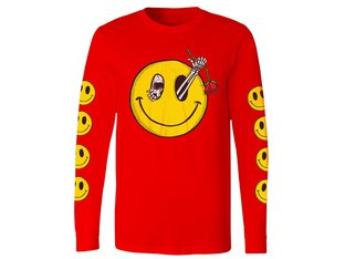 "Subrosa Bikes ""Evil Grin"" Longsleeve - Red"