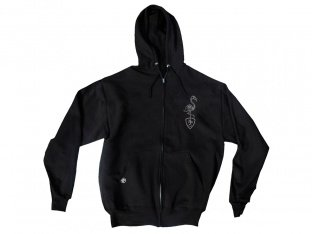 "Subrosa Bikes ""Flamingo"" Hooded Zipper - Black"