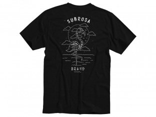 "Subrosa Bikes ""Flamingo"" T-Shirt - Black"