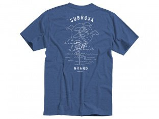 "Subrosa Bikes ""Flamingo"" T-Shirt - Navy Blue"