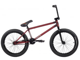 "Subrosa Bikes ""Novus Matt Ray"" 2021 BMX Bike - Matte Trans Red"