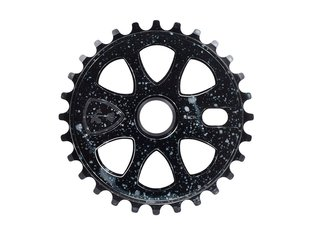 "Subrosa Bikes ""Petal 25T"" Sprocket - Gloss Cosmic Black"