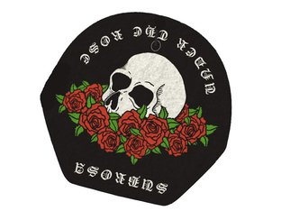 "Subrosa Bikes ""Rose"" Air Freshener"