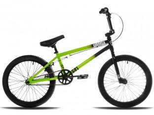 "Subrosa Bikes ""SB1"" 2018 BMX Bike - Black/Green"
