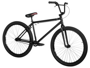 "Subrosa Bikes ""Salvador 26"" 2019 BMX Cruiser Bike - Satin Black On Black 