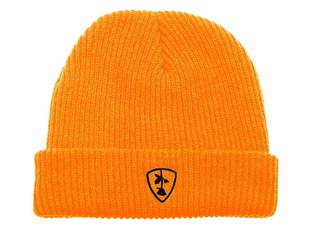 "Subrosa Bikes ""Shield"" Beanie - Neon Orange"