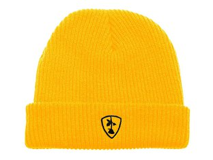 "Subrosa Bikes ""Shield"" Beanie Mütze - Yellow"