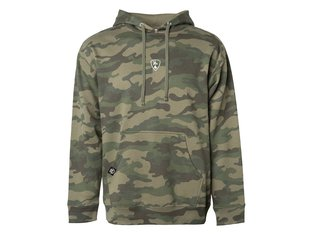 "Subrosa Bikes ""Shield"" Hooded Pullover - Camouflage"
