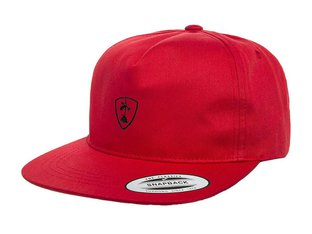 "Subrosa Bikes ""Shield Snapback"" Cap - Red"