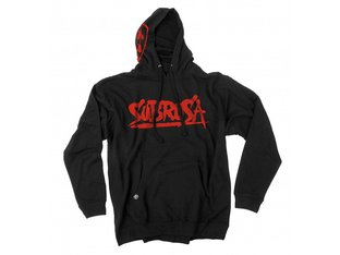 "Subrosa Bikes ""Splattered"" Hooded Pullover - Black"