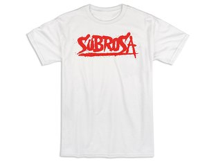 "Subrosa Bikes ""Splattered"" T-Shirt - White"