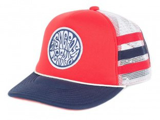 "Subrosa Bikes ""Steezy Trucker"" Kappe - Red/White/Blue"